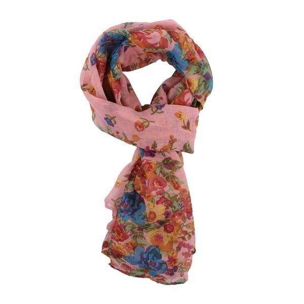 Šátek Daisy Dark Pink