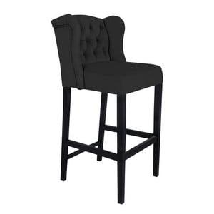 Černá barová židle Mazzini Sofas Roco