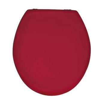 Capac WC din lemn Capac WC Wenko Prima, 41 x 38 cm, roşu lucios imagine