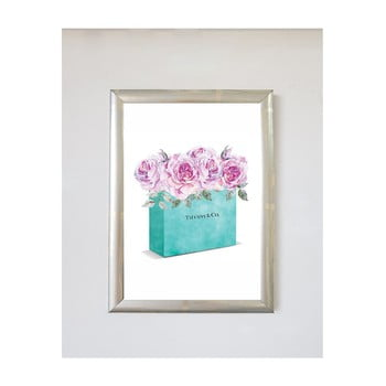 Tablou Piacenza Art Flower Bag, 30 x 20 cm