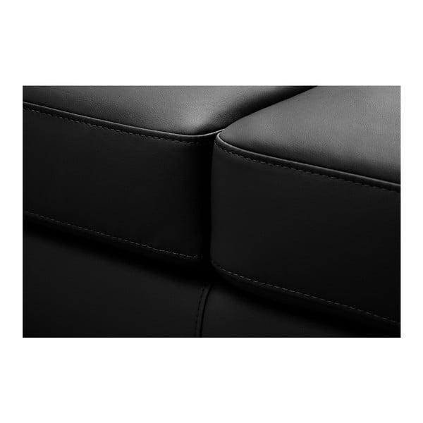 Černá pohovka Modernist Parure