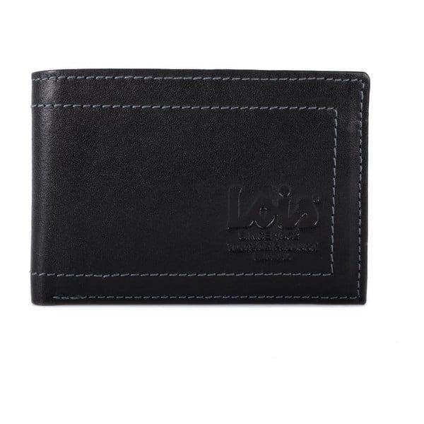 Kožená peněženka Lois Simple, 10x7 cm
