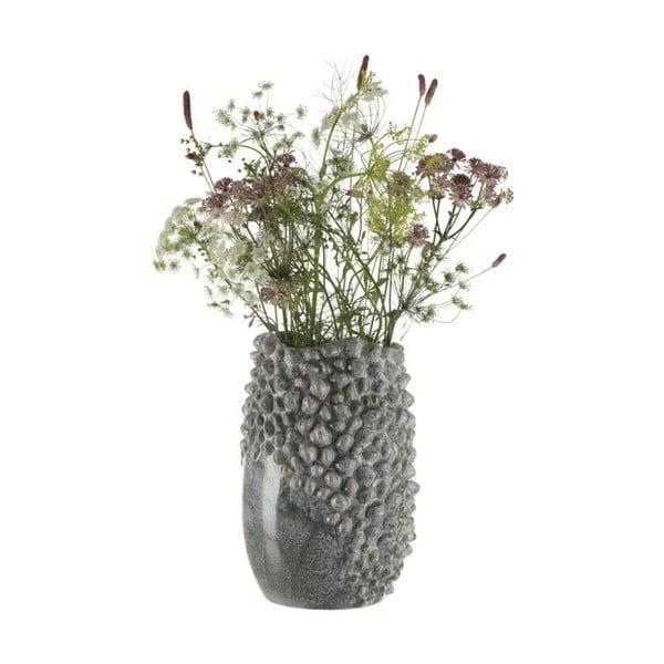 Kameninová váza A Simple Mess Nice Ballad Blue, ⌀18cm