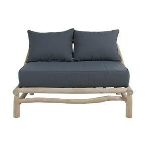 Canapea pentru grădină Santiago Pons Capri, gri