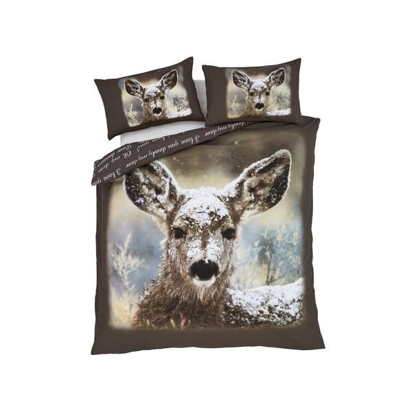 Povlečení Oh Deer!, 135x200 cm