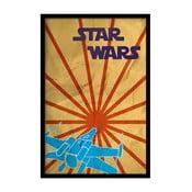 Plakát Star Wars, 35x30 cm