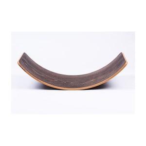 Šedé bukové houpací prkno Utukutu, délka82cm