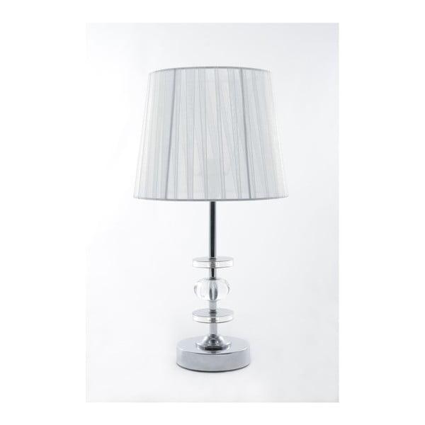 Stolní lampa Glamour White, 41,5 cm