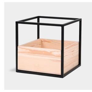 Modul úložného systému s dřevěným boxem noo.ma Folbi
