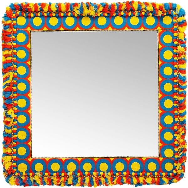Nástěnné zrcadlo Kare Design Flick Flack, 90x90cm