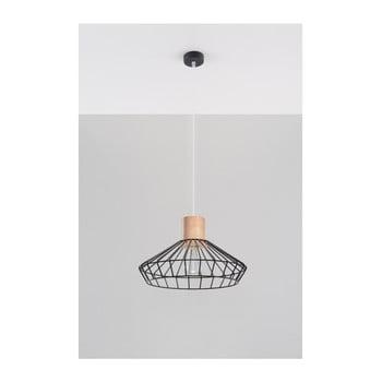 Lustră Nice Lamps Avilla, negru de la Nice Lamps