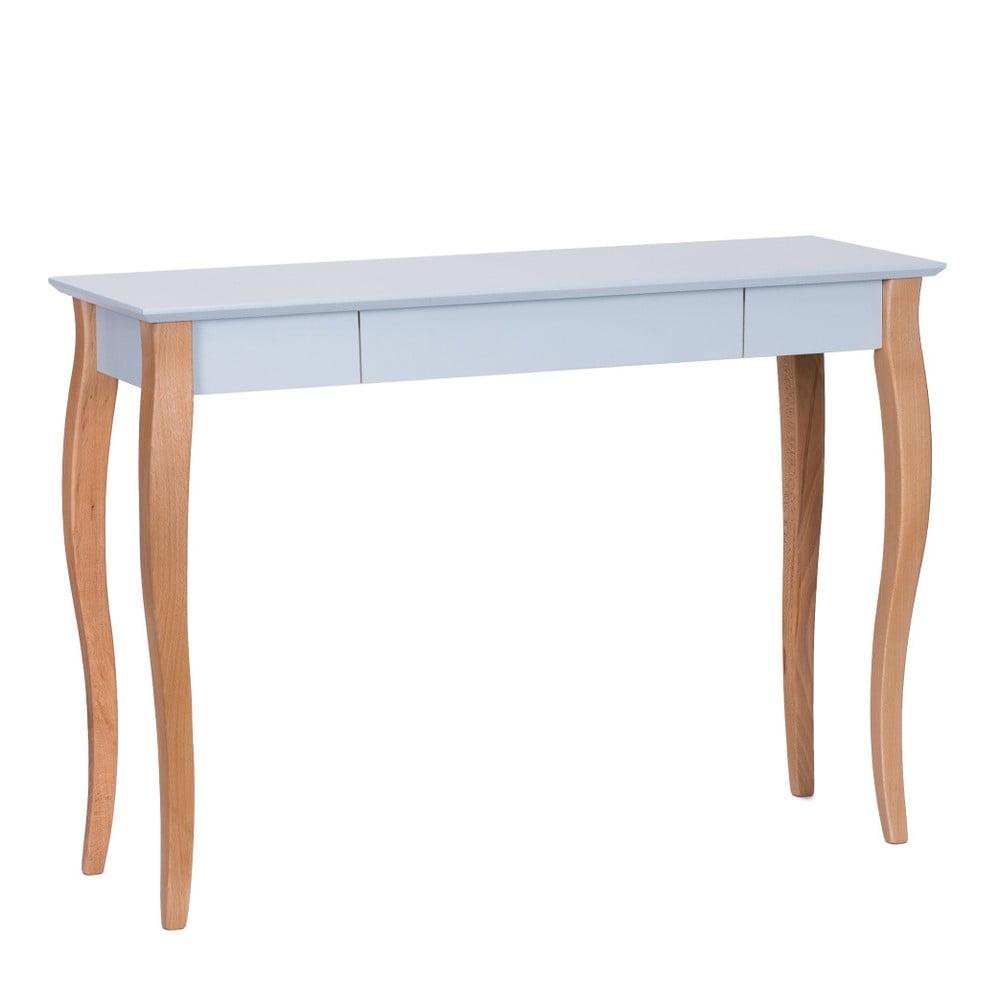 Světle šedý psací stůl Ragaba Lillo,délka105 cm
