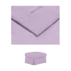 Světle fialový povlak na podnožku THE CLASSIC LIVING Jean