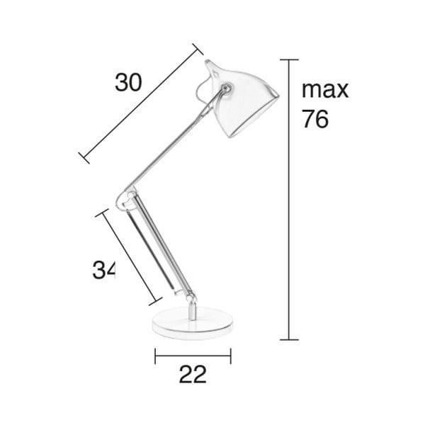 Stojací  lampa v měděné barvě Zuiver Reader