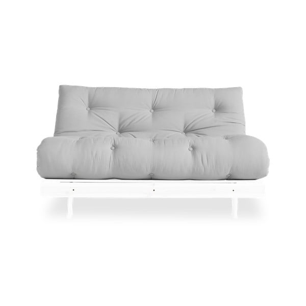 Sofa rozkładana Karup Design Roots White/Light Grey