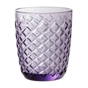 Fialová sklenice Côté Table Arlequin, 250ml