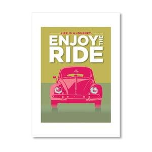 Autorský plakát Enjoy the Ride VWB