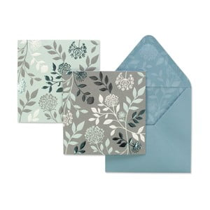 Set 12 felicitări cu plicuri Mirabelle by Portico Designs