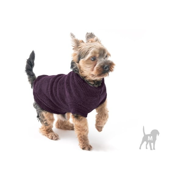 Fialový svetřík pro psy Marendog Trip, vel. M