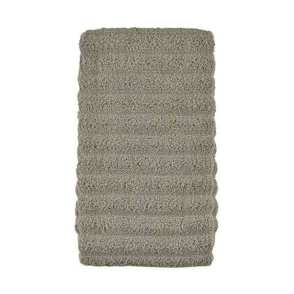 Šedozelený ručník ze 100% bavlny Zone Prime Eucalyptus, 50x100cm