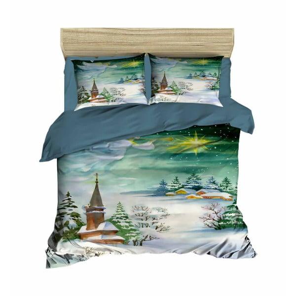 Lenjerie de pat cu cearșaf Lucas, 200x220cm