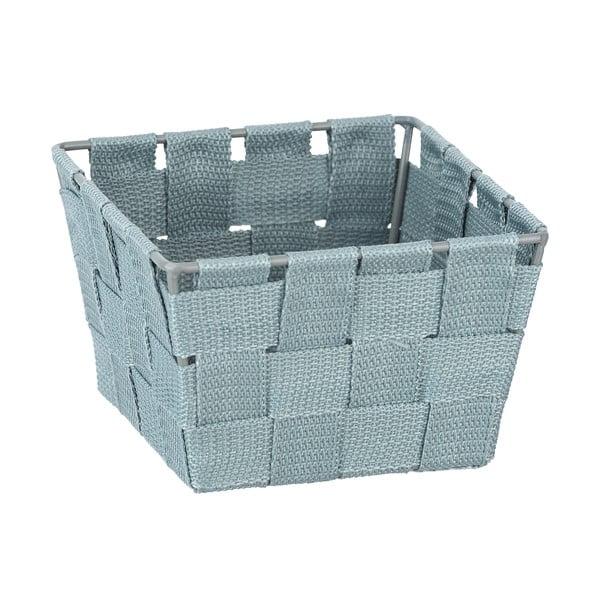 Modrý úložný košík Wenko, 14 x 14 cm