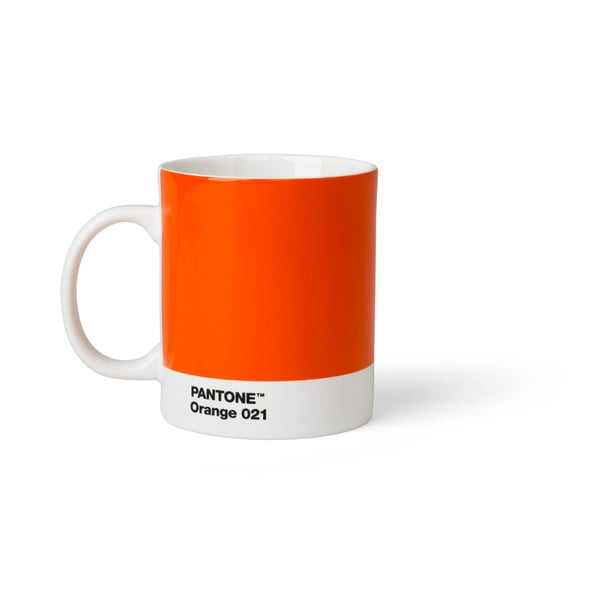 Oranžový hrnek Pantone, 375 ml