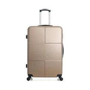 Cestovní kufr ve zlaté barvě na kolečkách Hero Coronado, 91 l