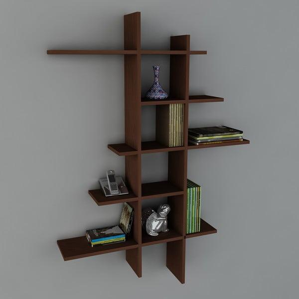 Police Atlanta Book Wenge, 22x90x150 cm