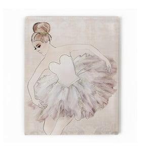 Tablou Graham & Brown Classic Ballerina, 40 x 50 cm