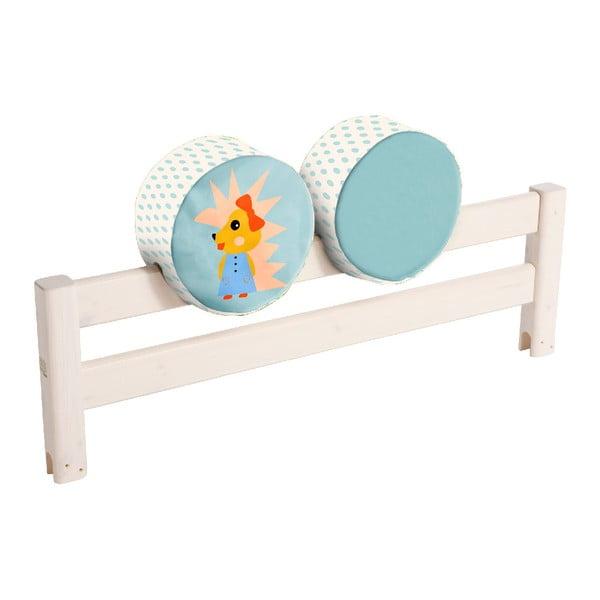 Dwustronna poduszka na barierkę łóżka Flexa Forest, ø 30 cm