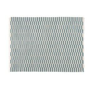 Vlněný koberec Lutea Turqouise, 140x200 cm