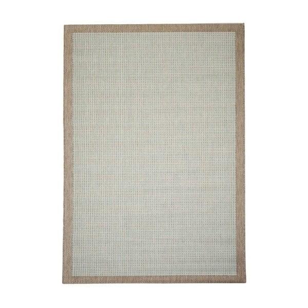 Hnědo-modrý venkovní koberec Floorita Chrome, 200 x 290 cm