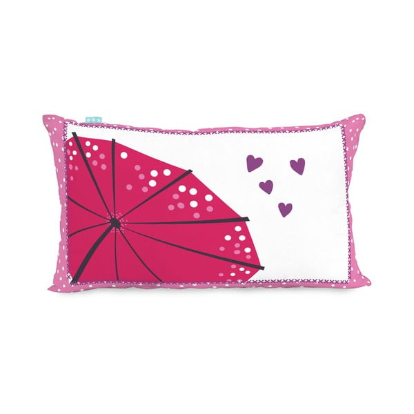 Bavlněný oboustranný povlak na polštář Moshi Moshi Cherry Blossom, 50x30cm