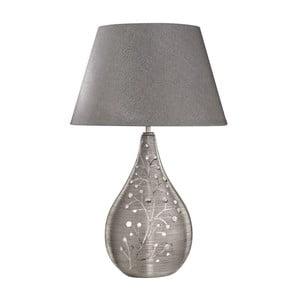 Stolní lampa Ella, stříbrná
