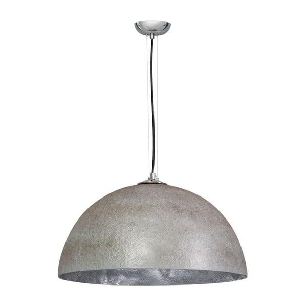 Lustră ETH Mezzo Tondo, ⌀ 50 cm, gri/argintiu