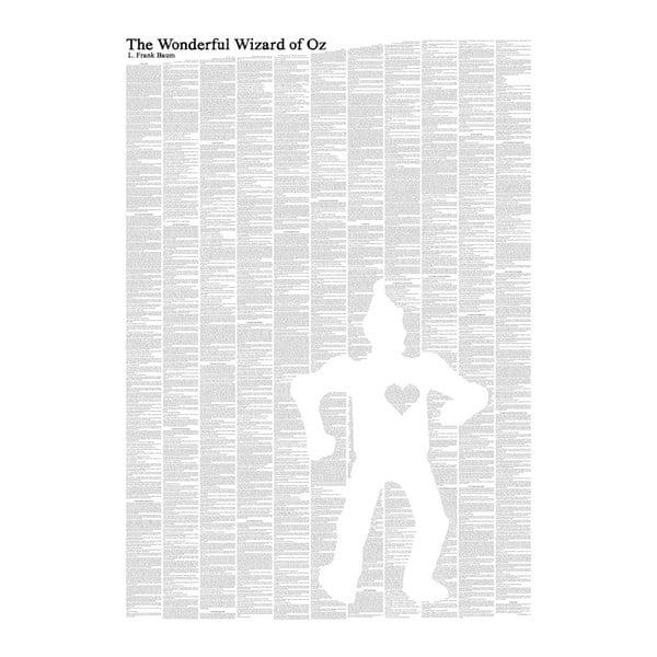 Knižní plakát Čaroděj ze země Oz/Tin Man, 50x70 cm