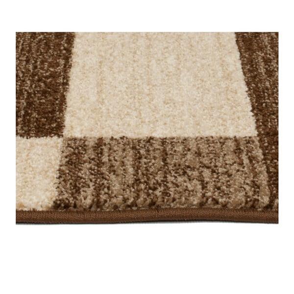 Hnědobéžový koberec Universal Boras Brown, 133x190cm