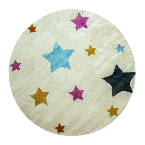 Dětský koberec Pinullo Stars, ⌀ 150 cm