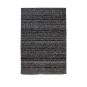 Antracitově šedý koberec Kayoom Viviana, 120 x 170 cm