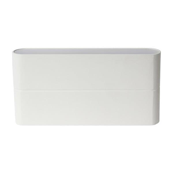 Bílé nástěnné svítidlo SULION New Era, 17,5x9cm