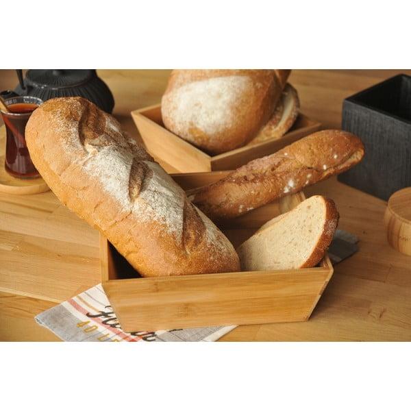 Coș din bambus pentru pâine Solly, 19 cm