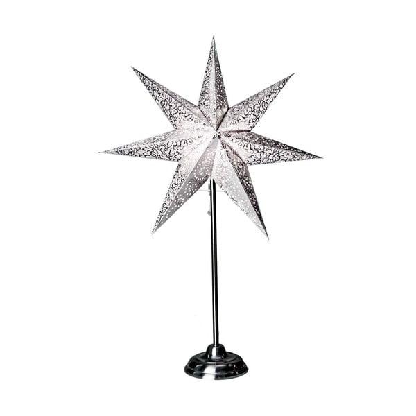 Svítící hvězda se stojanem Antique Grey, 70 cm