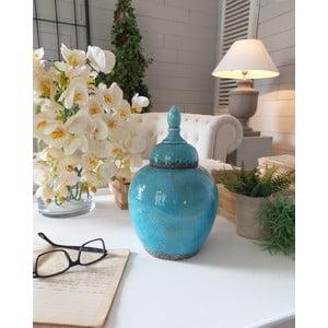 Dóza Ceramic Blue Antique