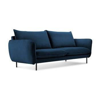 Canapea cu 2 locuri Cosmopolitan Design Vienna, albastru de la Cosmopolitan Design