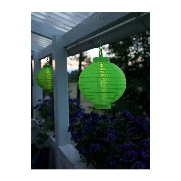 LED lampion Summer, zelený