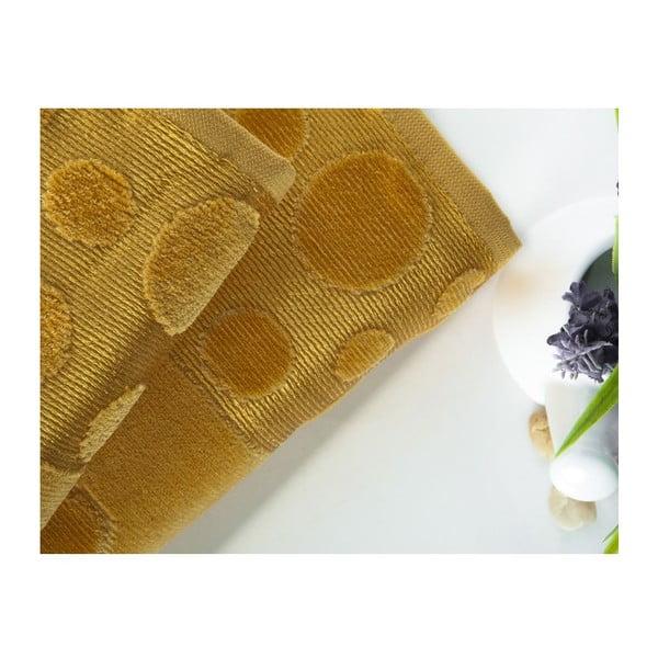 Sada 2 ručníků Tropical Mustard, 50x90 cm a 70x140 cm