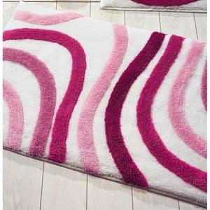 Covoraș de baie Confetti Bathmats Sardes, 60 x 100 cm, roz