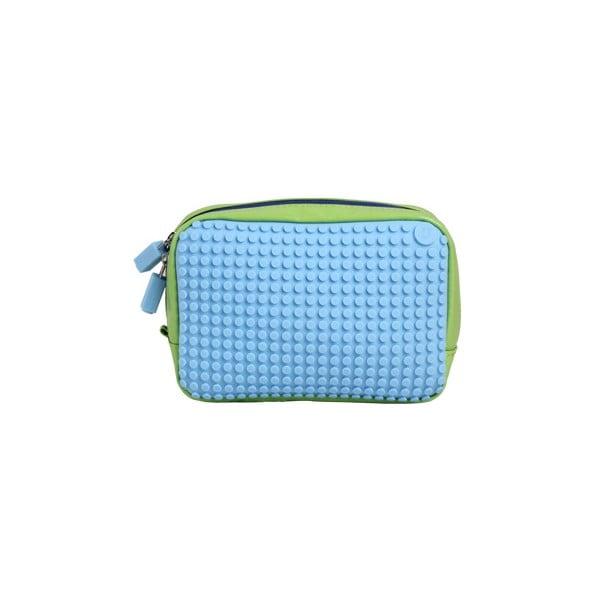 Pixelová příruční taštička, green/baby blue