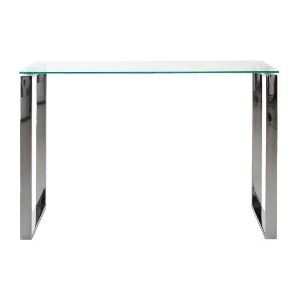Konzolový stůl se skleněnou deskou Actona Katrine
